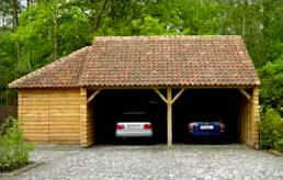 houten tuinhuizen en carports op maat