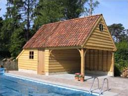 Houten poorten - houten tuinhuizen en carports - Accesso -