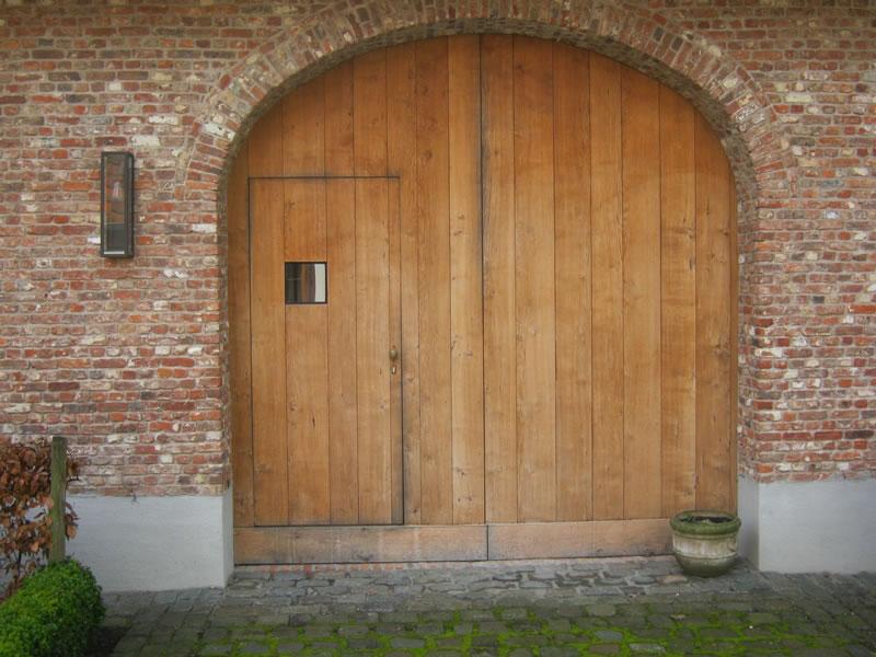 houten poorten accesso  garagepoorten - vleugelpoorten
